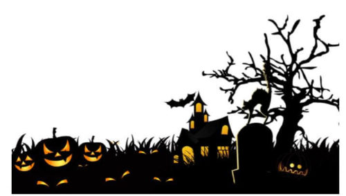 ハロウィン 墓場