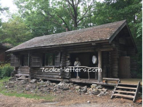 北の国から 丸太小屋