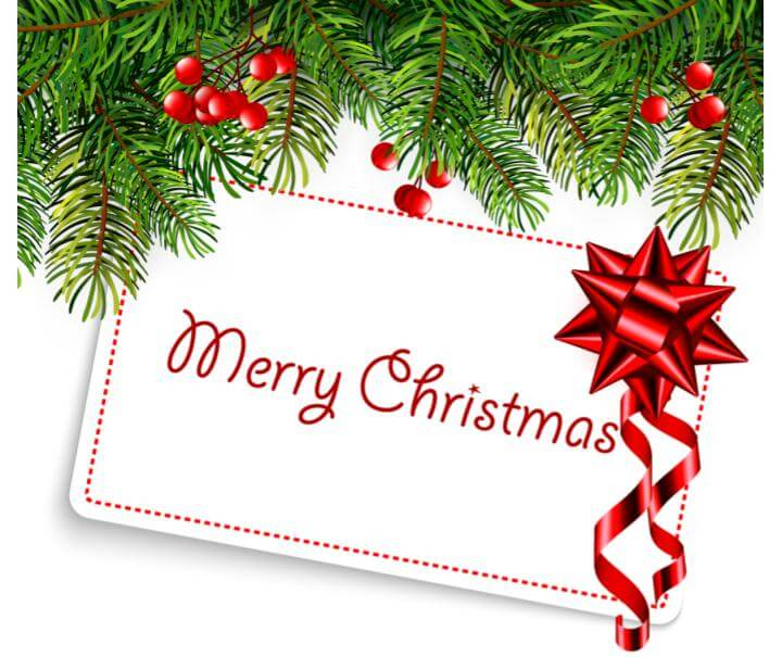 クリスマス カード 例文