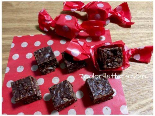 バレンタイン チョコクランチ 大量生産