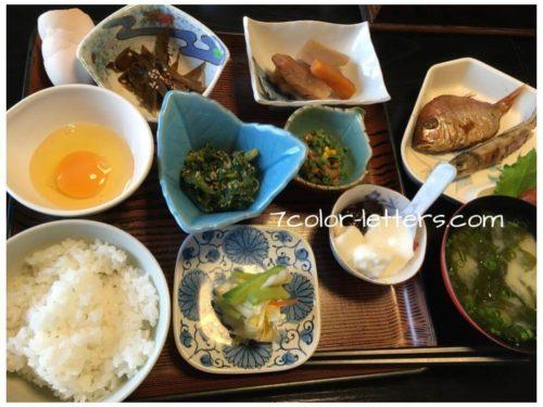 島根ことぶき荘 朝食