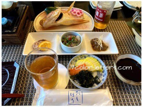 島根ことぶき荘 夕食