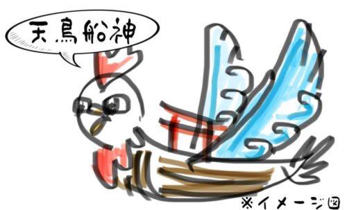 天鳥船神 イメージ図イラスト