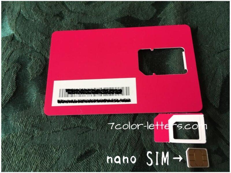 楽天モバイルアンリミットSIMカード